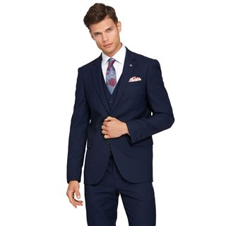 Benetti Navy James Tapered Fit Suit Jacket