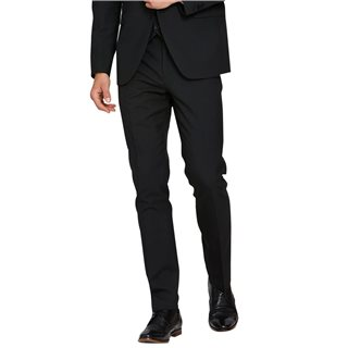 Benetti Black James Tapered Fit Trousers
