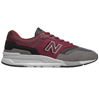 New Balance Burgundy / Black 997H Trainers