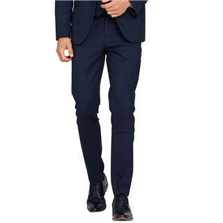 Benetti Navy James Tapered Fit Trousers