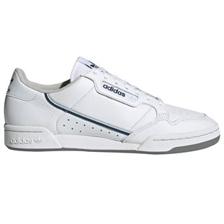 adidas Originals White / Sky Tint Continental 80 Trainers
