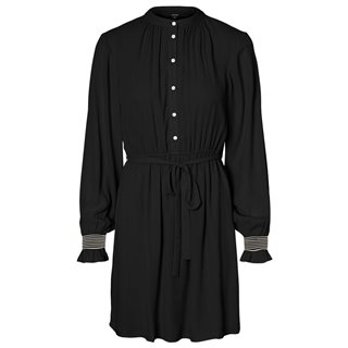 Vero Moda Black Ibina Long Sleeved Dress