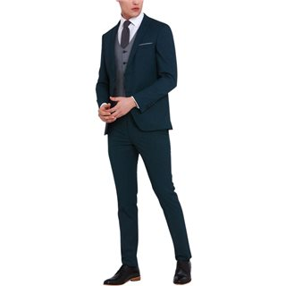 Travis Lloyd Super Slim Fit 3-Piece Suit