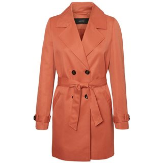 Vero Moda Bruschetta Double Breasted Trenchcoat