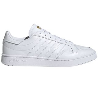 adidas Originals White Team Court Trainers
