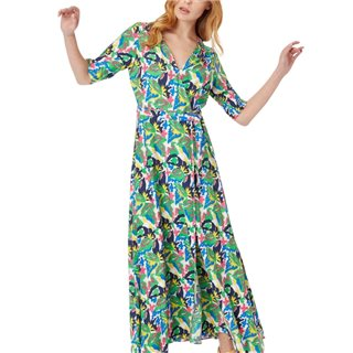 Traffic People Moment Of Madness Maxi Wrap Dress