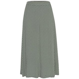 ICHI Dark Green Ihalona Skirt