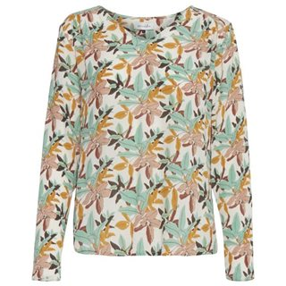 BlendShe Mashu Printed Blouse