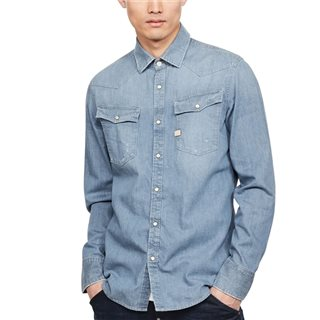 G-Star Faded Basalt 3301 Slim Shirt