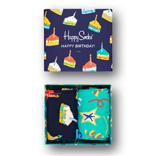 Happy Socks Birthday Cake Gift Pack