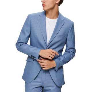 Selected Homme Light Blue Slim Fit Blazer