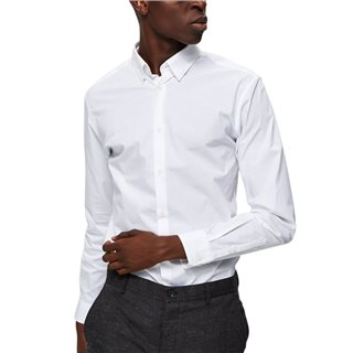 Selected Homme Bright White Slim Fit Shirt