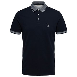 Selected Homme Organic Cotton Polo Shirt