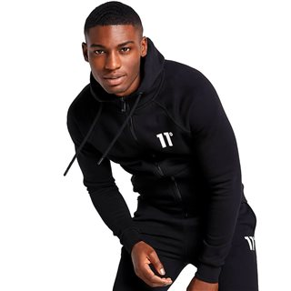 11 Degrees Black Core Full Zip Hoodie