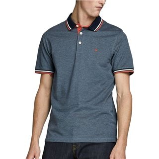 Jack & Jones Essentials Denim Blue Classic Polo Shirt