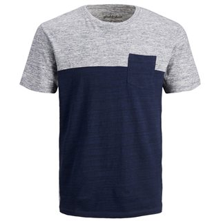 Jack & Jones Essentials Navy Blazer Mix Crew Neck T-Shirt