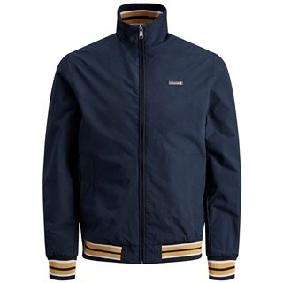 Jack & Jones Originals Navy Blazer High Neck Flint Jacket