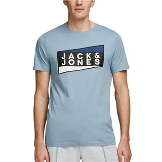 Jack & Jones Core Faded Denim Organic Cotton T-Shirt