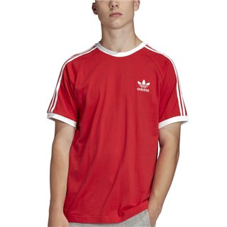 adidas Originals Lush Red 3-Stripes T-Shirt
