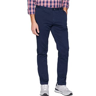Gant Marine Slim Satin Chinos