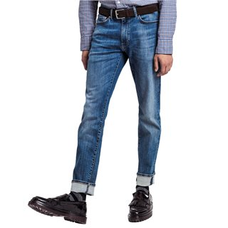 Gant Mid Blue Broken In Slim Fit Active-Recover Jeans