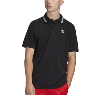 adidas Originals Originals Black Trefoil Essentials Polo