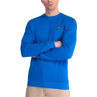 Lyle & Scott Bright Cobalt Crew Neck Sweater