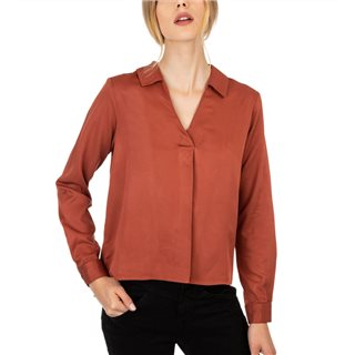 Tiffosi Rust Shirt Blouse