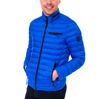 Tommy Bowe XV Kings Paraburdo Oxford Blue Padded Jacket