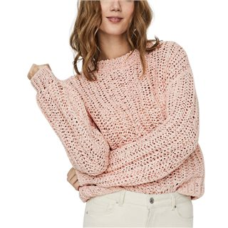 Vero Moda Chintz Rose Voluminous Sleeved Knitted Pullover