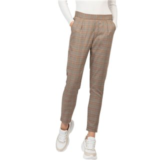 Tiffosi Orange Artic Check Trousers
