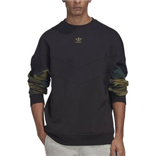 adidas Originals Black Camo Crew Sweater