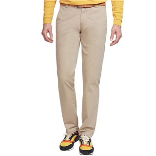 Meyer Beige Oslo Stretch Classic Chinos