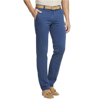 Meyer Blue Oslo Stretch Classic Chinos
