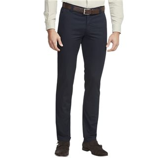 Meyer Dark Navy Roma Classic Fit Chinos