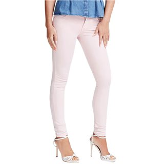 Guess Pink Resort Curve X Skinny Fit Jeans