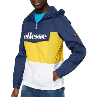 Ellesse Navy/Yellow Domani Jacket