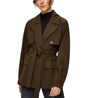Selected Femme Beech Short Trenchcoat