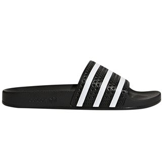 adidas Originals Black/White Adilette Sliders