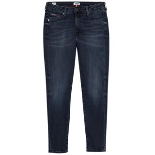 Tommy Jeans Dark Blue High Rise Skinny Jeans