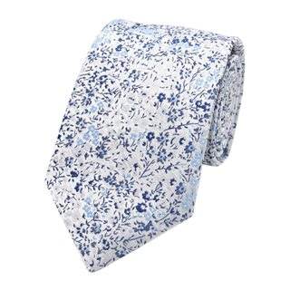 LLoyd Aintree Smith Blue Ditsy Floral Tie