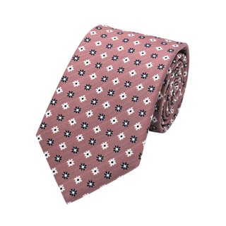 LLoyd Aintree Smith Pink Floral Pattern Tie