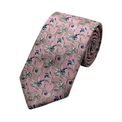 LLoyd Aintree Smith Pink Art Deco Poly Tie