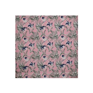 LLoyd Aintree Smith Pink Art Deco Floral Hankie