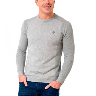 Tommy Bowe XV Kings Cement Grenfell Crew Neck Knit