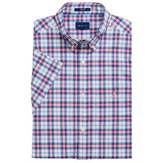 GANT Rapture Rose Check Regular Short-Sleeve Shirt