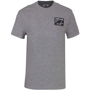 Tommy Jeans Grey Black Label T-Shirt