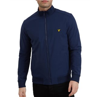 Lyle & Scott Navy Softshell Zip Through Jacket