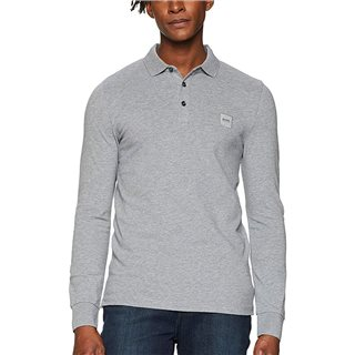 BOSS Light Grey Passerby Polo