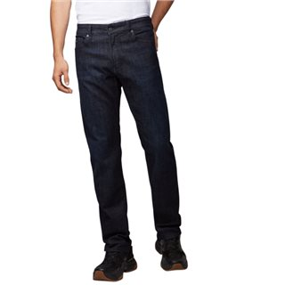 BOSS Navy Selvedge Stretch Regular Fit Jeans
